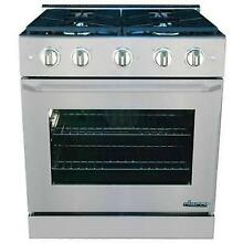 Dacor Distinctive DR30GSNG 30 Inch Freestanding Gas Range Stainless Steel