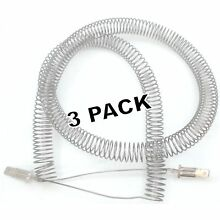 Seneca River Trading 3 Pk  Dryer Heating Element for Frigidaire  AP2135128