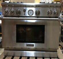 Thermador Professional 36  Dual Fuel Range With Convection And Griddle