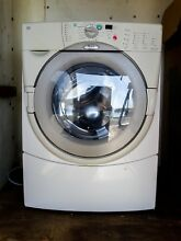 WHIRLPOOL WASHER DUET HT MODEL 6HW9400PWO WORKS GREAT 60HZ 120V