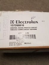 Brand New Frigidaire Washer Control Board Part   137260810