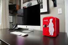 Red Classic Coca Cola Portable Mini Cooler Refrigerator Fridge Storage Red 10 4