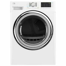 Kenmore 81382 7 4 Cu Ft  Electric Dryer with Steam in White   Pedestal