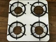 Vintage Wincroft Stove Top Cover With Burner Grates   Drip Pans