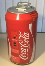 Portable Coca Cola Mini Can Fridge Electric Cooler Refrigerator Car Home CC 06