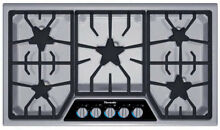 Thermador 36  SS Masterpiece Gas Cooktop w  XLO Simmer SGSX365FS