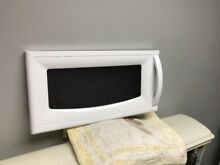 LG Gold Star Microwave Oven Complete Door 3581W1A464G White