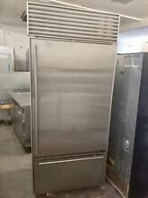 36  Subzero Built in Stainless Steel Refrigerator 0002970