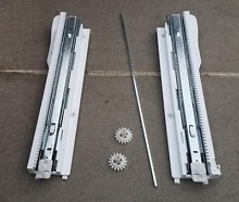 Kenmore Refrig Freezer Drawer Slide Complete Set Part   5218JA1010F