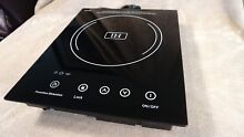 Summit SINC1110 Smoothtop Electric 12  Induction Cooktop 120 Volt Black