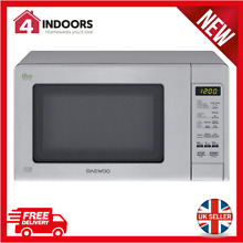 Daewoo KOR6M5RR Touch Control Microwave 800W 20L In Stainless Steel   Brand New