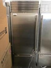 30  subzero Built In 611 Bottom Freezer Stainless Steel Refrigerator 0002971