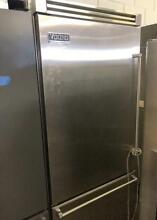 36  Viking Professional Built In Bottom Refrigerator Stainless Steel 0002496