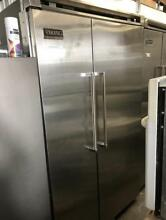 48  Viking Professional Built in Side By side Refrigerator Stainless Steel 00024