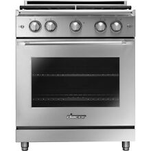 Dacor HGER30S LP 5 2 CuFt Heritage Self Cleaning Gas Convection Range Stainless