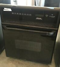24  Frigidaire self cleaning black oven 000824