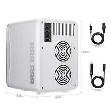 Mini Fridge Cooler and Warmer  10 L 11 Can AC DC Portable Thermoelectric System