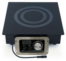 SPT Electric Induction Cooktop 12 5 in  Digital Control Ceramic Glass Plate