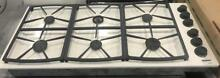 46  Dacor White 6 Burner Gas Range Cooktop 0002024 46x21x6