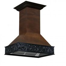 ZLINE 36 in  Wooden Wall Mount Range Hood in Antigua and Walnut