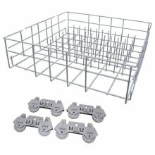 Seneca River Trading Dishwasher Lower Rack for Whirlpool  Sears  AP4512509