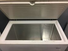 Haier 7 1 cu ft Chest Deep Freezer White  Wide Small Size   Pickup only