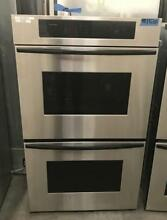 30  Thermador stainless steel double oven wall unit 000537
