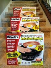NuWave Induction Cooktop  2 Piece  Bonus 9 inch Non Stick Fry Pan   3 Available