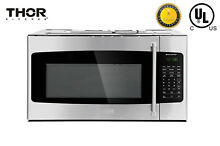 Thor Kitchen Over the Range Built in Microwave Oven Silver HOR3001