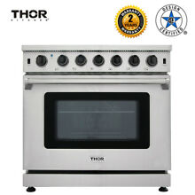 Thor Kitchen 36  Gas Range Stove Oven burner grate Stainless Steel