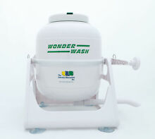 Portable Washing Machine Alternative Compact Crank Hand Laundry Mini Wash Wonder