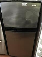 0003309 30  whirlpool top freezer refrigerator stainless steel
