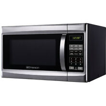 Emerson 1 3 Cu  Ft  1000 Watt Touch Control Microwave Oven  MW1338SB