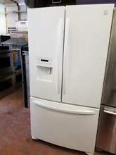 36  Kenmore french door refrigerator in white 0003158