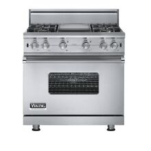 Viking Professional VGCC5364GSS LP 36 Inch Pro Style Gas Range Stainless Propane