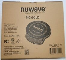 Nuwave Precision Induction Cookware Cook Top Burner 30211 Never Used