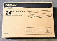 Broan 412408 Almond 24  Wide Steel Non Ducted under Cabinet Range Hood with