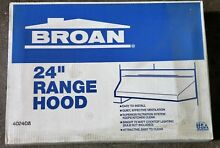 Broan 402408 24  Almond Vented under Cabinet Exhaust Fan RANGE HOOD