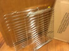 W10554531 W10554526 TWO  2  Genuine KitchenAid Whirlpool Pull Out Oven racks