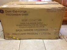 GE Appliances JVM3160DFWW   1 6 cu  ft  Over the Range Microwave Oven   Works