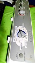 GE WASHER CONTROL PANEL WH42X10764 with nobs  FREE SHIPPING