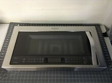 Whirlpool Microwave Door Assembly P  W10893441