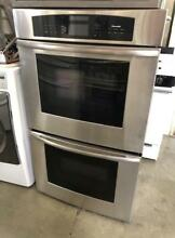30  Thermador Double Oven Stainless Steel Wall Unit 0002697