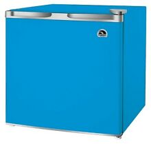 Dorm Fridge Mini Refrigerator Blue W Freezer 1 6 Cubic Foot Space Saver Quiet