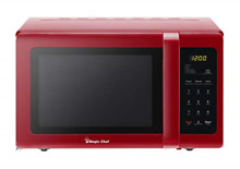 Magic Chef MCD993R 0 9 Cubic ft Countertop Microwave Red