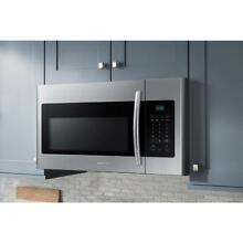 Samsung 1 6 Cu ft  1000 Watts Over the Range Microwave Oven in Stainless Steel