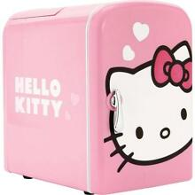 HELLO KITTY Personal Mini Fridge Portable Cooler Warmer With Carrying Handle