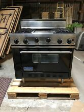 Viking Professional VGR36 Black Gas Oven W Griddle 36