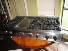 VIKING 48  OPEN BURNER RANGE TOP VGRT480 6G