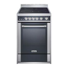 24 in  2 2 cu  ft  Electric Range with Convection in Stainless Steel Magic Chef